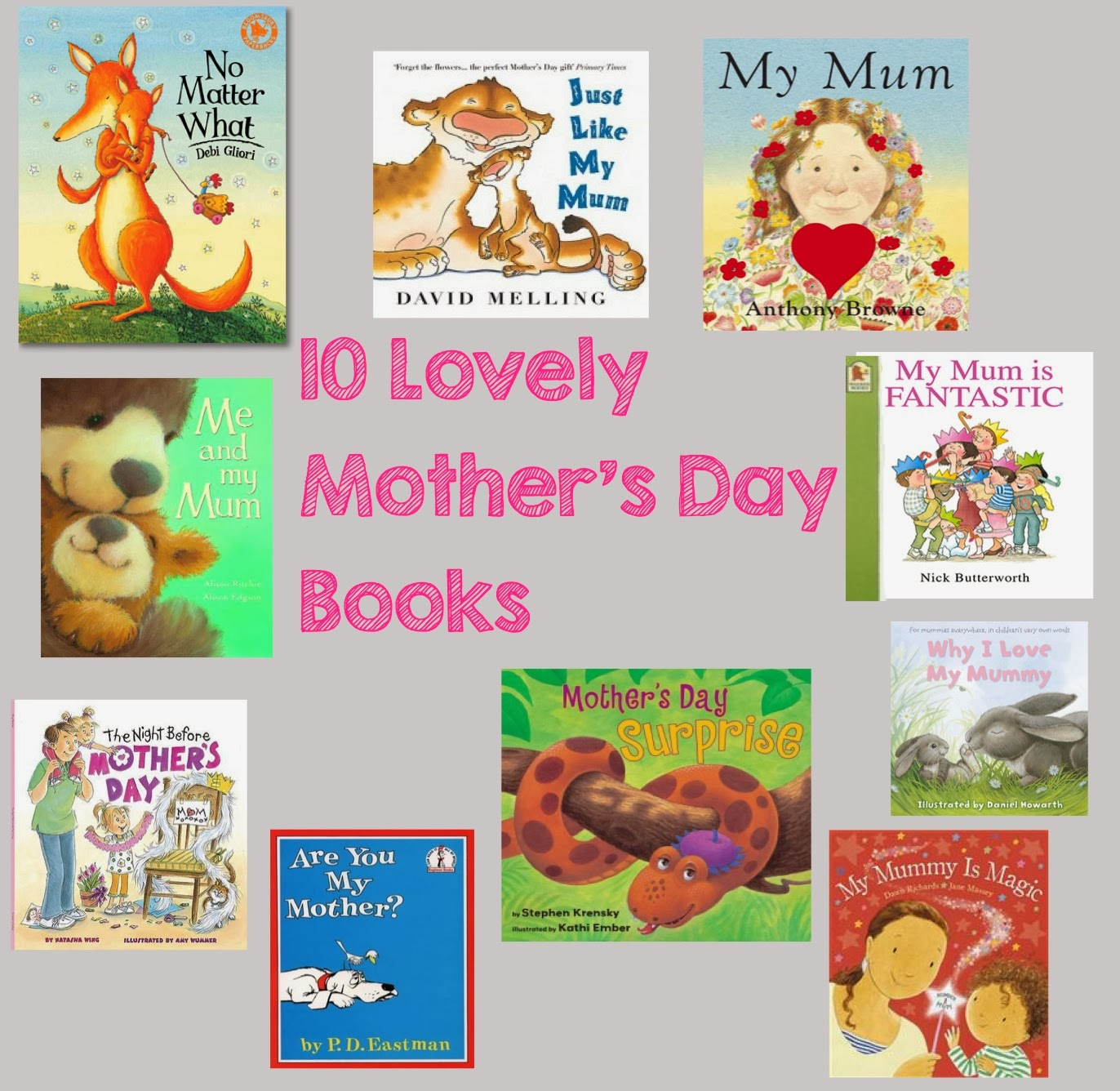 mamasVIB | V. I. BOOKCLUB: 10 Great Books about mamas for Mother's Day! baby books, classic baby books, classic nursery books, Mother's Day, gift ideas, V. I. BOOKCLUB,
