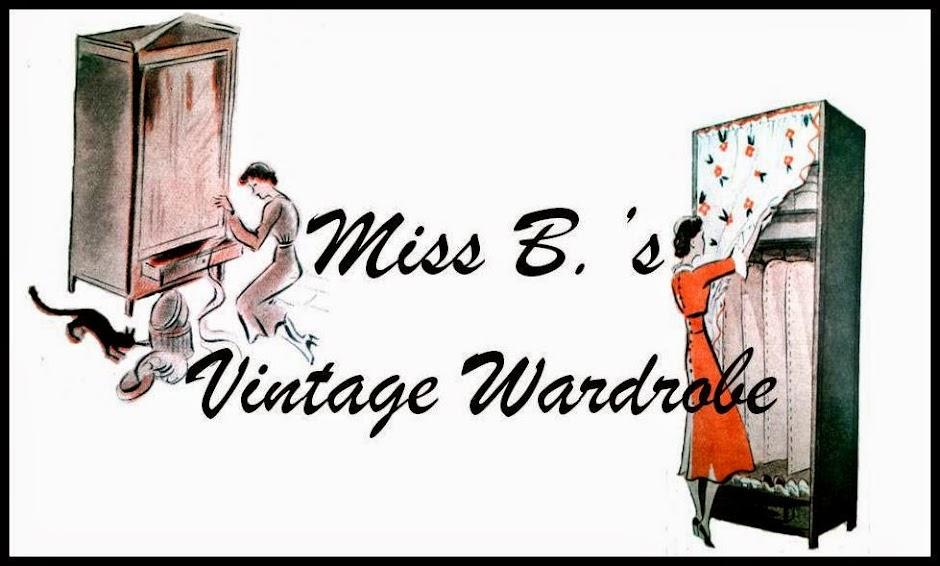 Miss B's Vintage Wardrobe