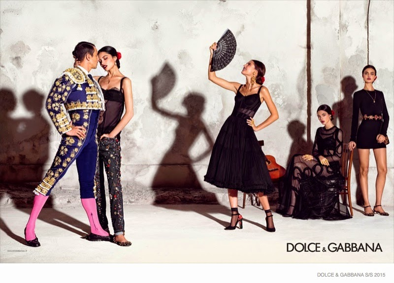 Dolce & Gabbana Spring/Summer 2015 Campaign featuring Bianca Balti and others