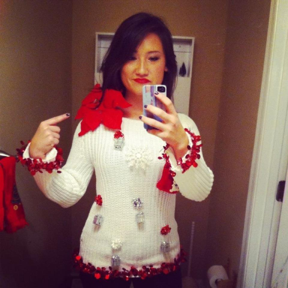 homemade ugly sweater ideas