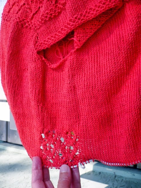 Cabin Fever Sisters Knit: One Step Further Away From the Pattern