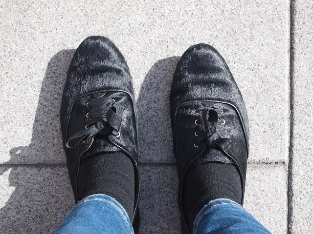 zapatos oxford de bimba y lola