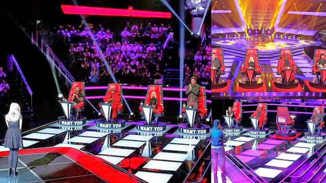 Blind Audition round of The Voice show