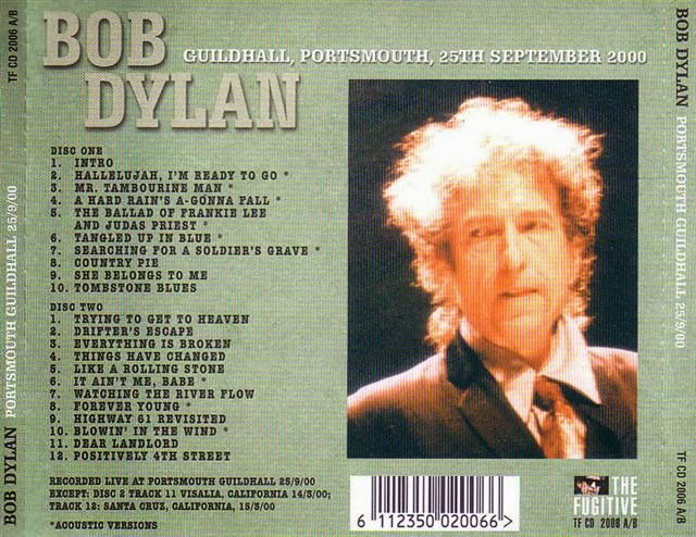 Dylan did play the Guildhall