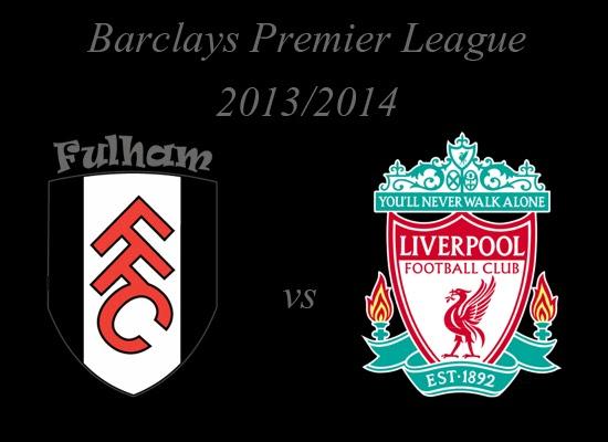 Fulham vs Liverpool Barlays Premier League 2014