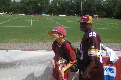 Catholic Charities at Redskins Training Camp