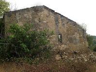 Paret de l'edifici annex de Sabruneta