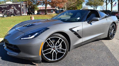 Chevrolet Corvette in Shark Gray