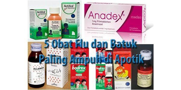 Obat Flu dan Batuk di Apotik