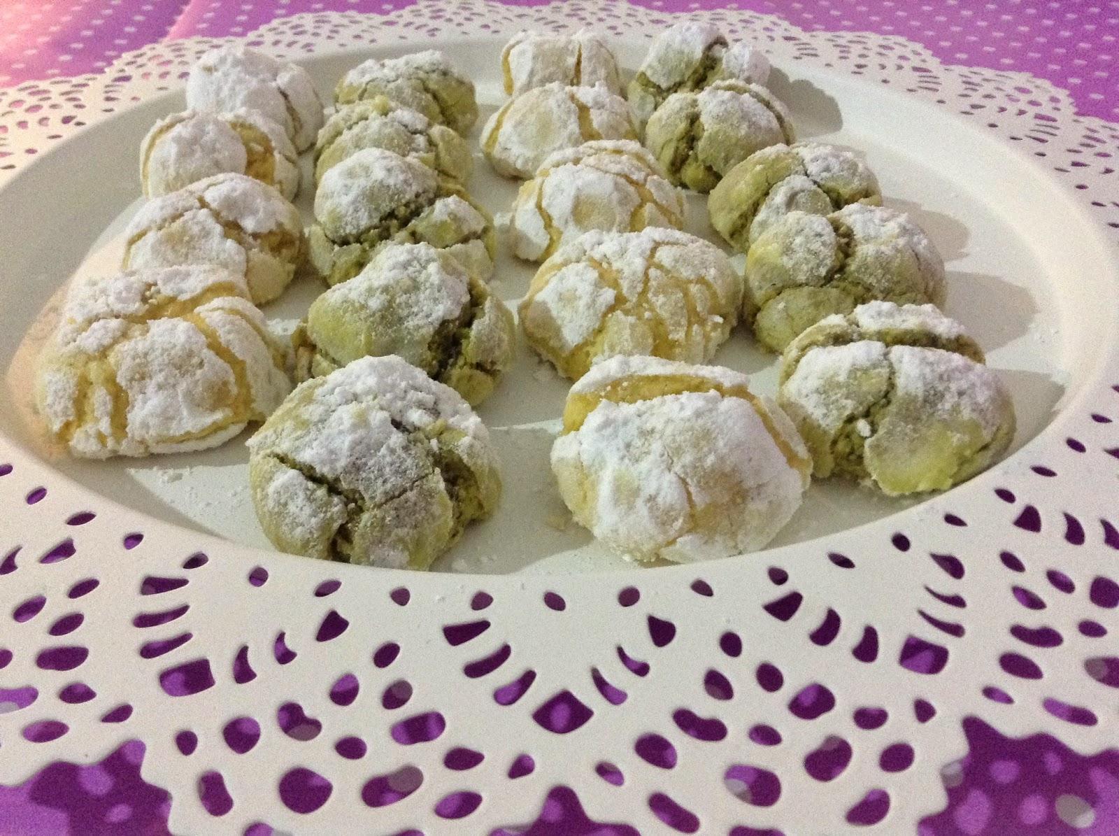 Il Mondo di Biba: Biscotti morbidi al pistacchio