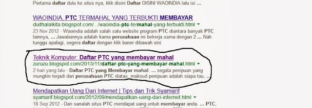 cara menghilangkan nama blog di mesin pencari