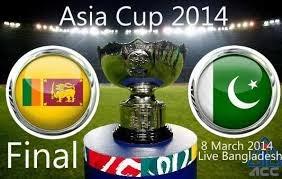 Live Cricket Streaming HD: Watch Asia Cup Final Pak vs SLanka Live Streaming Mar 8 2014 Online Willow, PTV Sports, Star Sports Free.