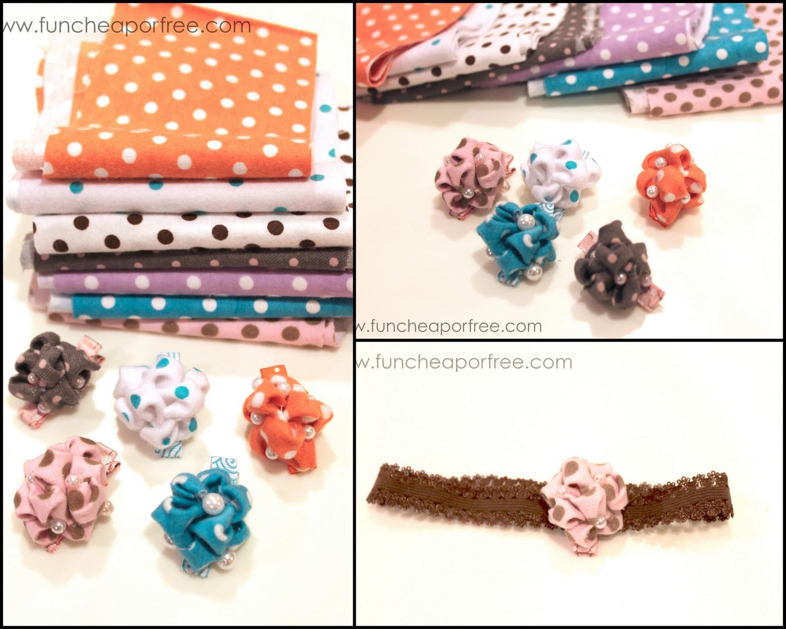 Bubble Flower Hair Clip Tutorial Fun Cheap Or Free