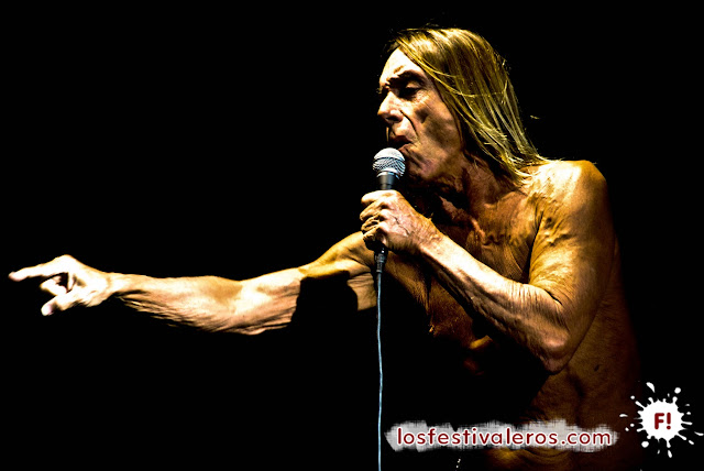 Iggy Pop en Deferlantes 2013