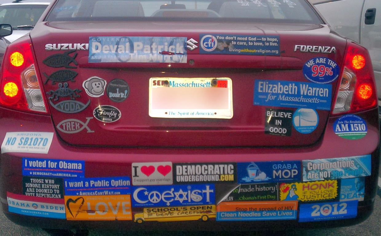 The rants musings adventures of dale yancy whats up with all whats up with all these co exist bumper stickers biocorpaavc