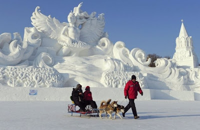 Harbin International Ice and Snow Festival Stills