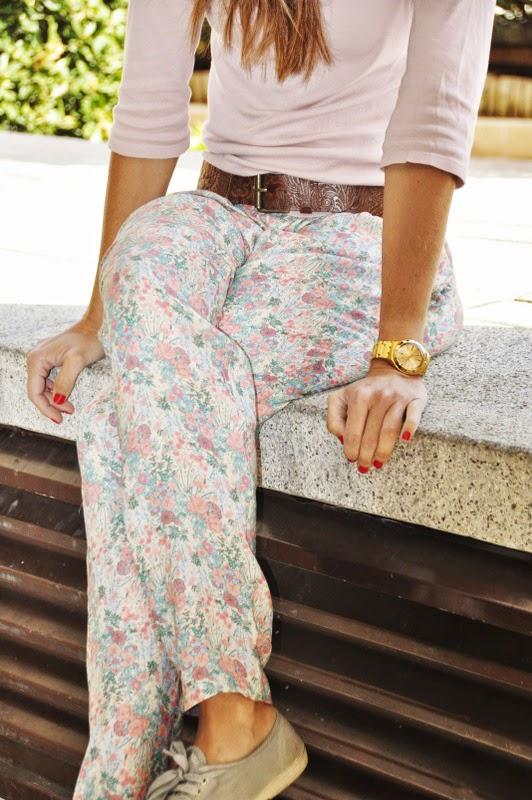 Pantalón Barbie,Magnolia Trendy,estampado floral