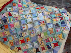 upcycled duvet cover quilt