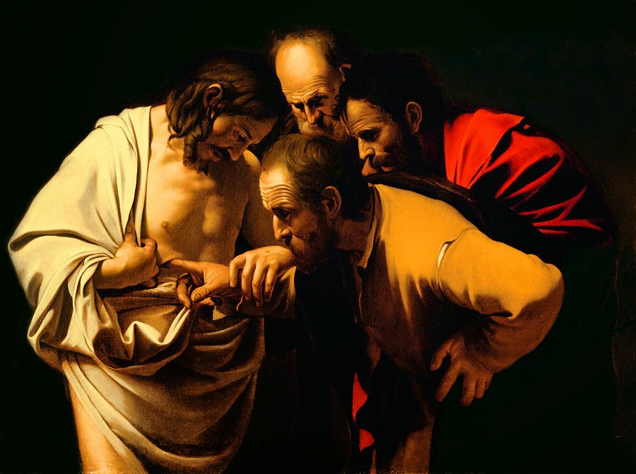 pintura do discípulo tomé