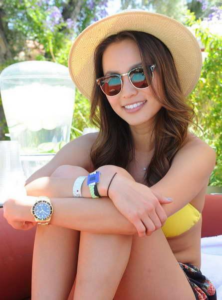 Jamie Chung in Wonderful Sunny Summer Season Holiday