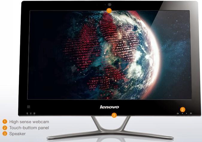 расположение портов Lenovo IdeaCentre C440
