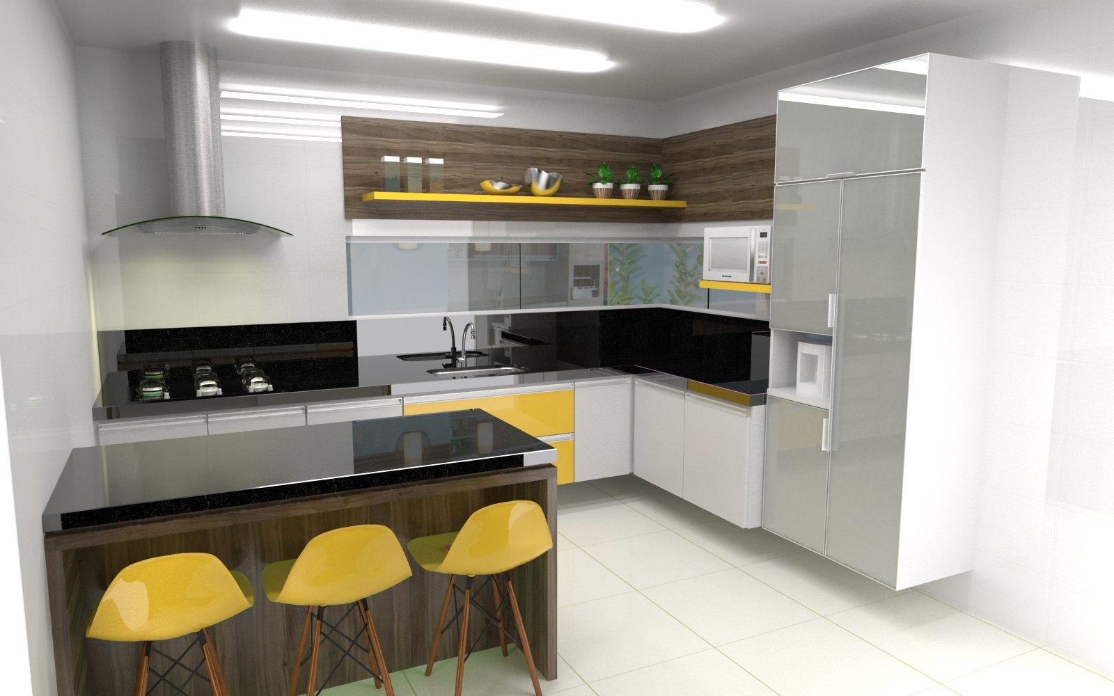 #AB8920 Belenetto Marcenaria Personalizada: Cozinha Mikel São Mateus 1600x1000 px A Cozinha Mais Recente Projeta Fotos_836 Imagens