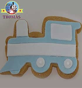 Cartoon character Thomas the tank engine and friends biscuit cutters Birthday cake designs for kids