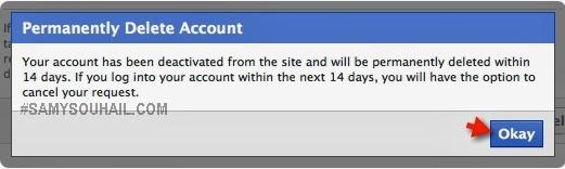 شرح كيفية حذف حساب Facebook الفيس بوك نهائيا في 3 خطوات