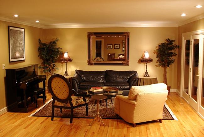 Recessed Lighting Living Room Ideas
