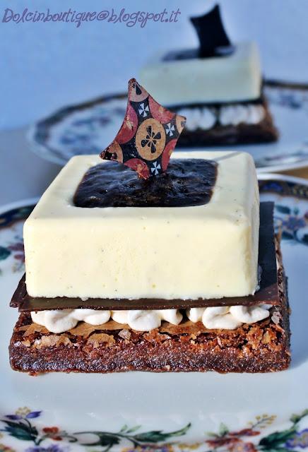 piccoli entremets ciocco-caffè-vaniglia