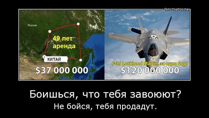 Оренда російських земель Китаєм