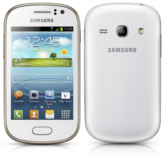 Samsung Galaxy Fame smart phone