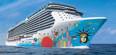 Norwegian Breakaway - Peter Max Design