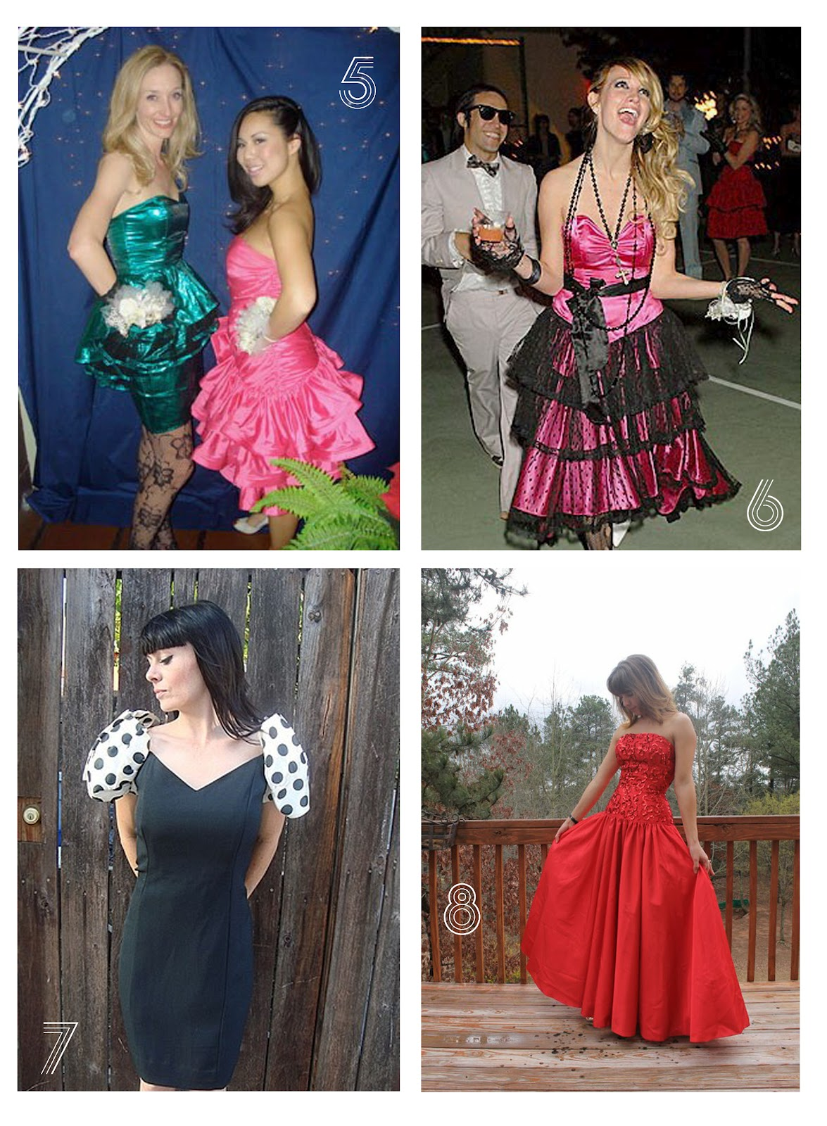 80S Prom Dress Costume | Cocktail Dresses 2016