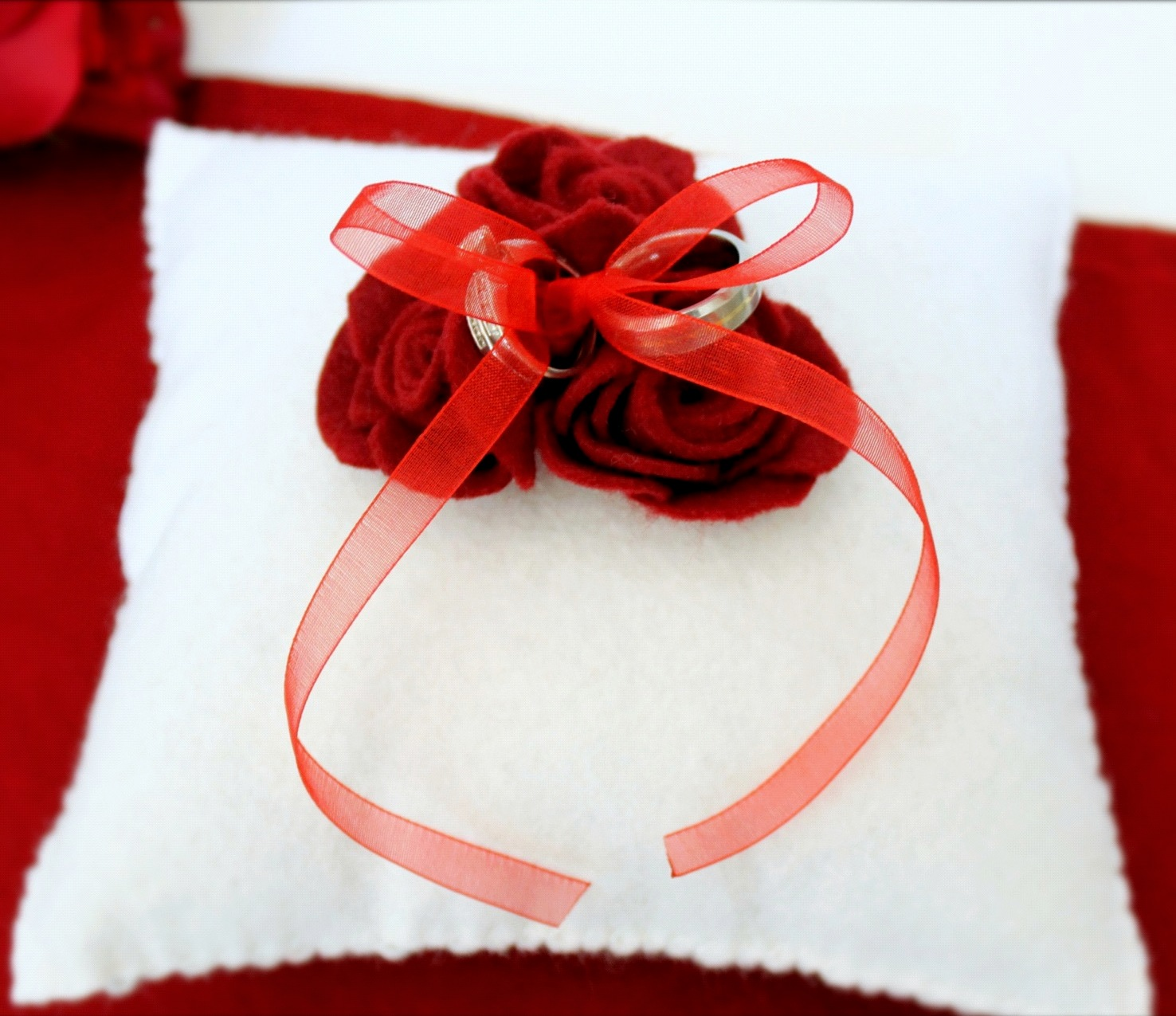 Rings Pillow Wedding