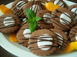 Kakaovo-citronove chrumkave keksiky