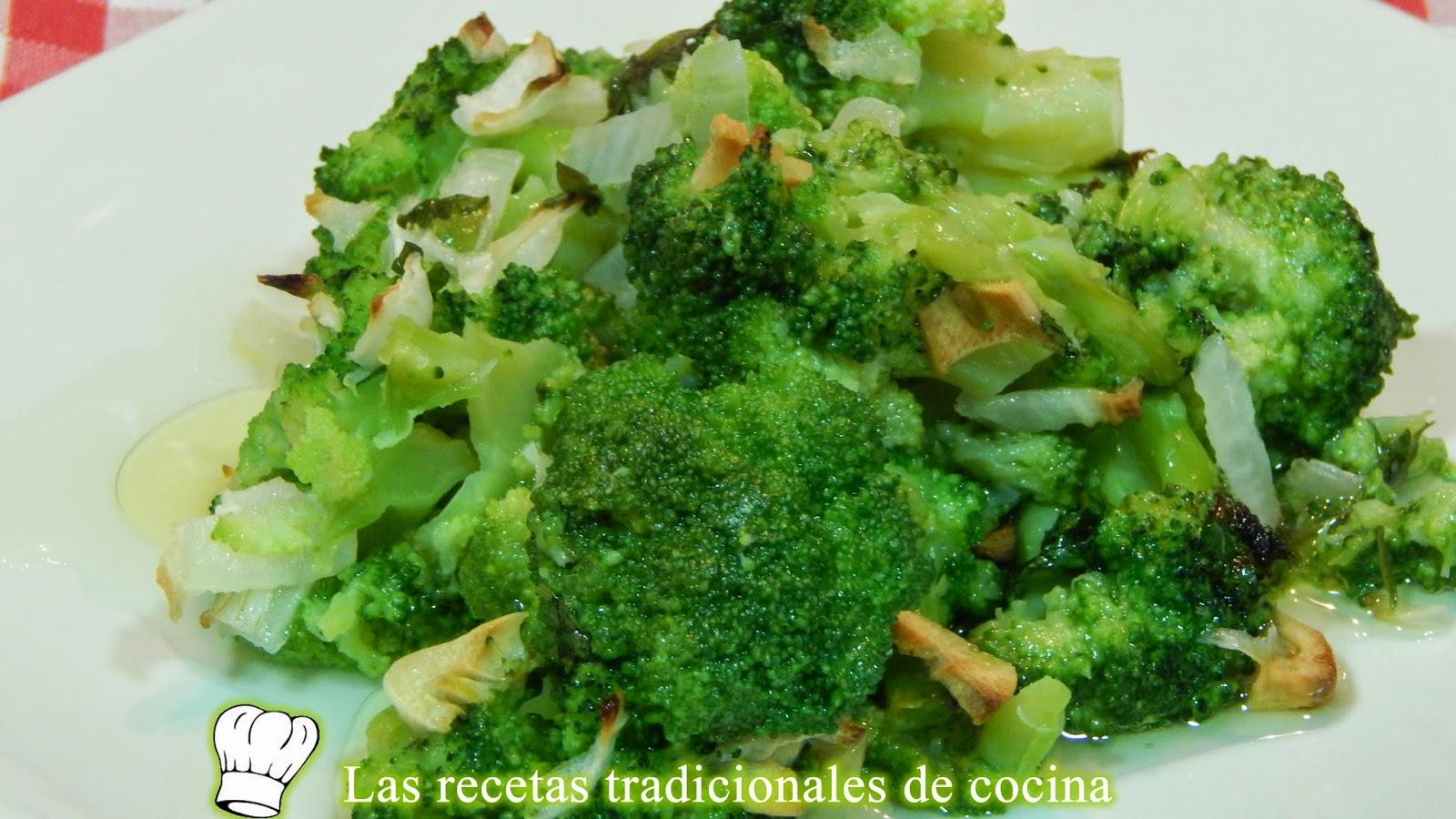 Receta de brócoli a la provenzal