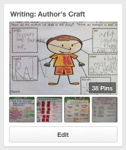http://www.pinterest.com/1stgradebuddies/writing-authors-craft/