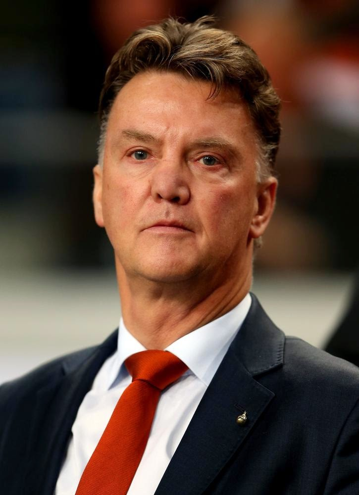 Louis van Gaal, entrenador del Machester United