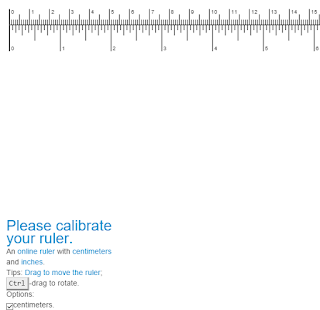 geek: Top 10 Online Actual Size Rulers In Metric And Inches