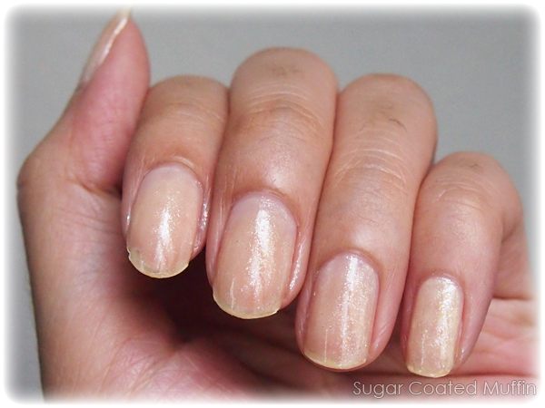 Kanebo COFFRET D'OR Nail Color #YL-08