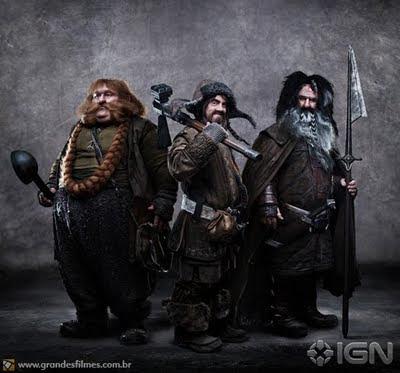 O Hobbit - Bofur, Bifur e Bombur