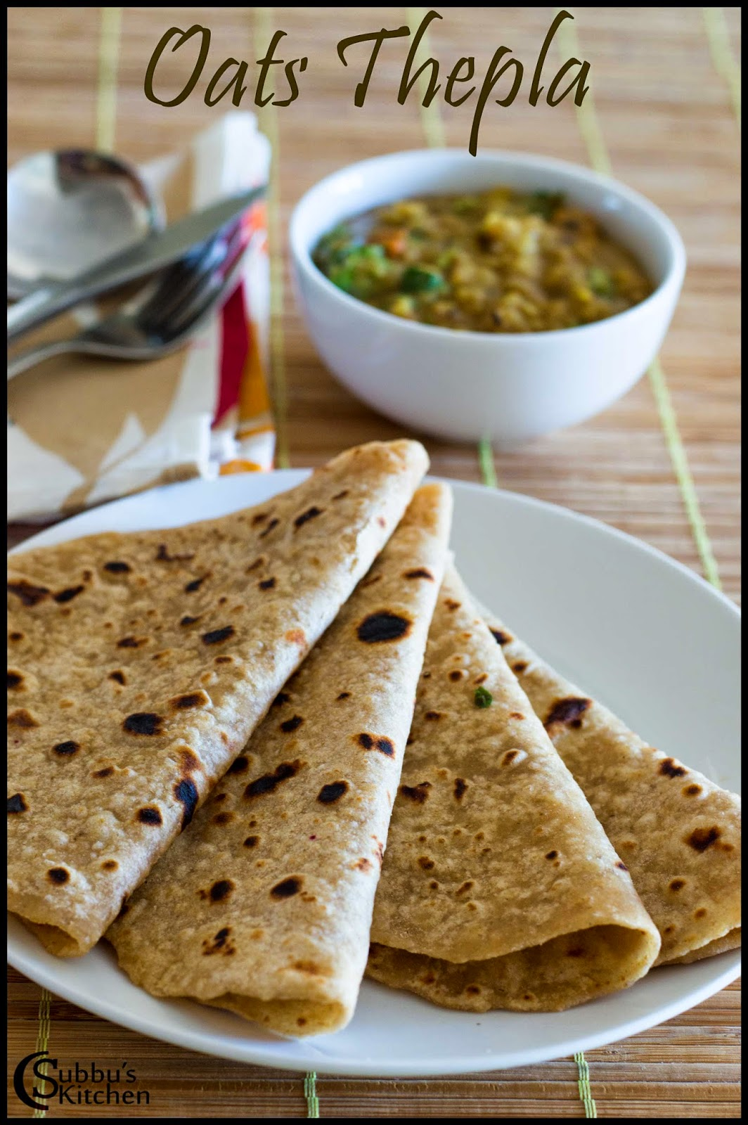 Oats Thepla Recipe | Oats Chapati Recipe