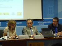 Pilar Cámara, Rodrigo Bercovitz y Carlos Guervós