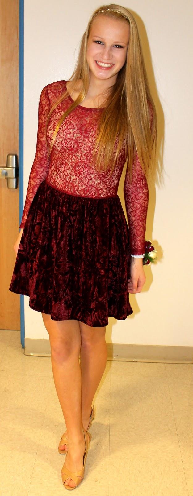 Cute middle school dance dresses christmas dance dress