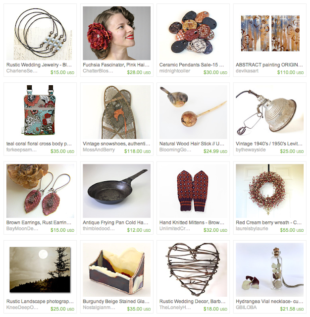 Warm & Fuzzy Gift Guide on Etsy #winter #fall #gifts