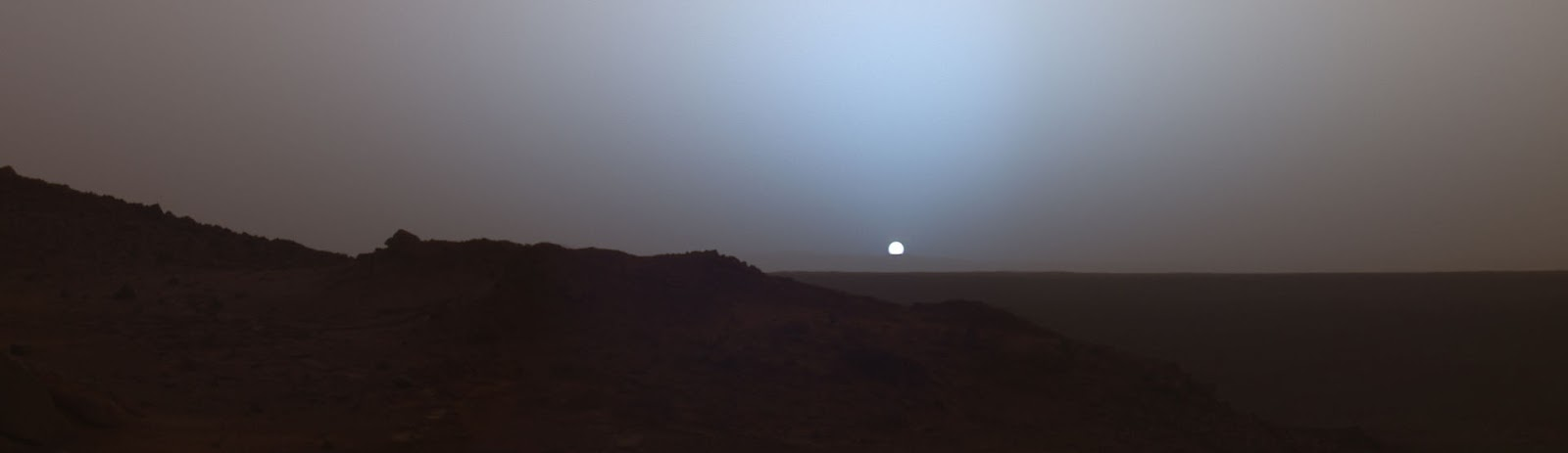 sun sets on mars nasa - photo #24