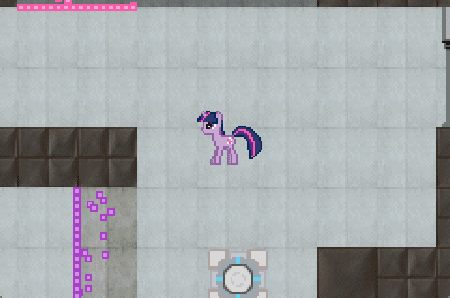 A screenshot of Pony Portal Advance