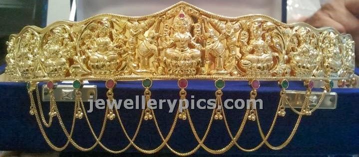 asta laksmi vaddanam design from sri mahalaxmi jewellers