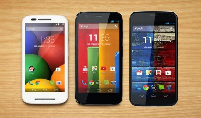 Motorola Moto E,G,X , Android Kitkat 4.4.4 Update